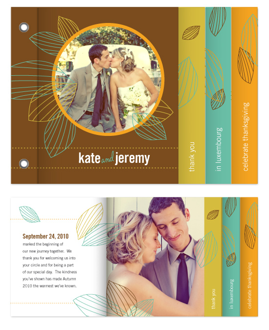 minibook cards - One Fine Autumn Day by Betta