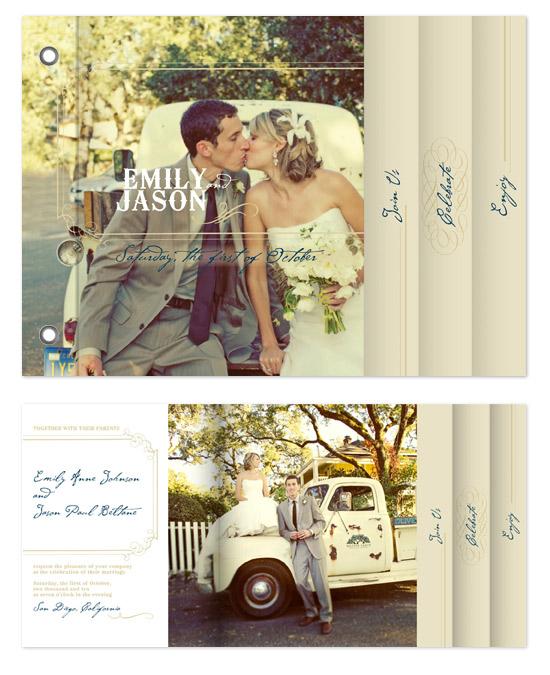 minibook cards - Vintage Love by Twelve12 Design