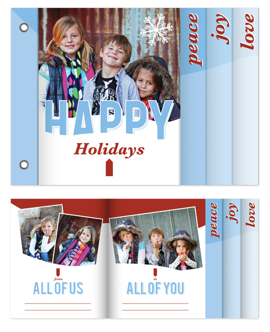 minibook cards - From Us To You by Adam Lorber