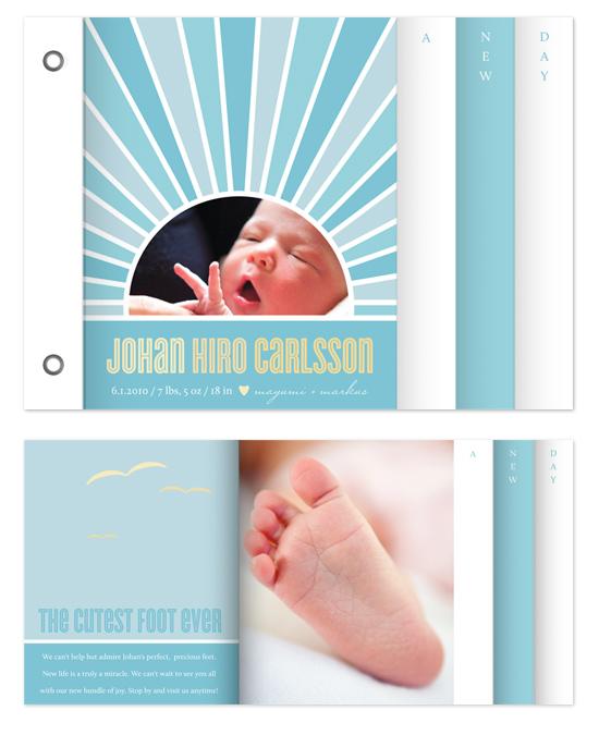 minibook cards - a new day by nocciola design