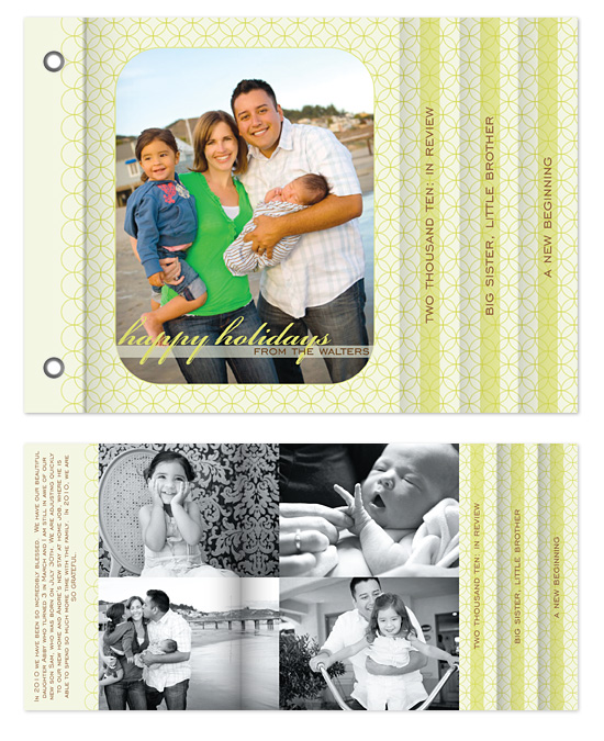 minibook cards - Happy Holidays by Heidi Stock Design