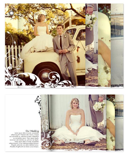 minibook cards - A New Wedding by Aubrey Buller