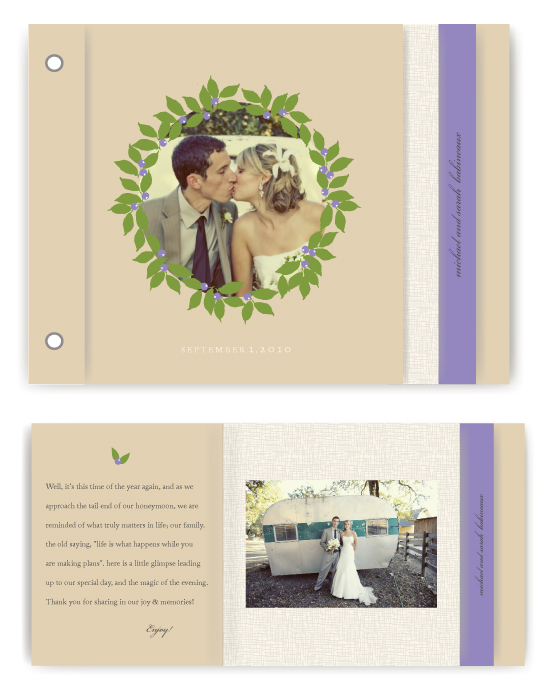 minibook cards - drupe by Marabou Design