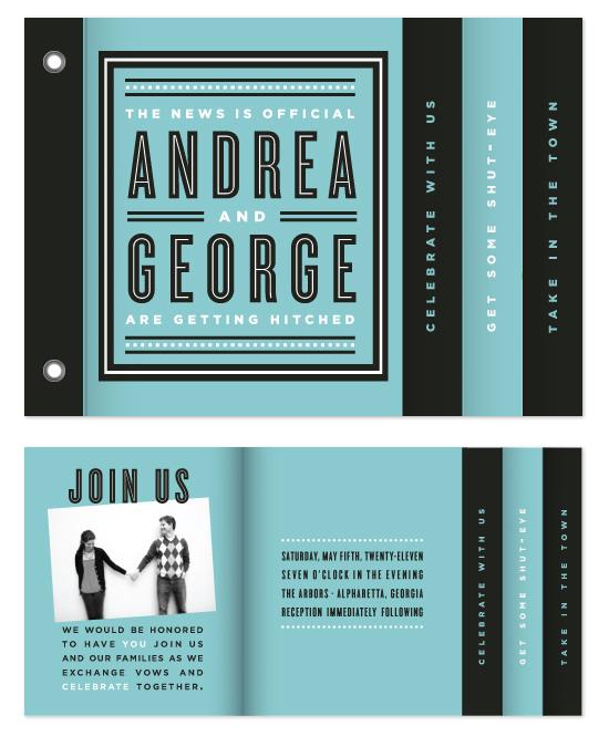 minibook cards - Bold Beginnings by Sydney Newsom