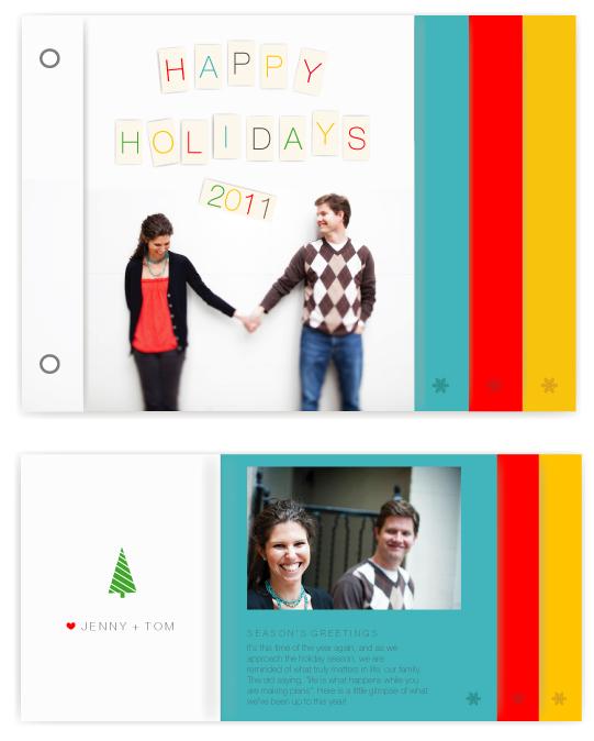 minibook cards - peg by Marabou Design