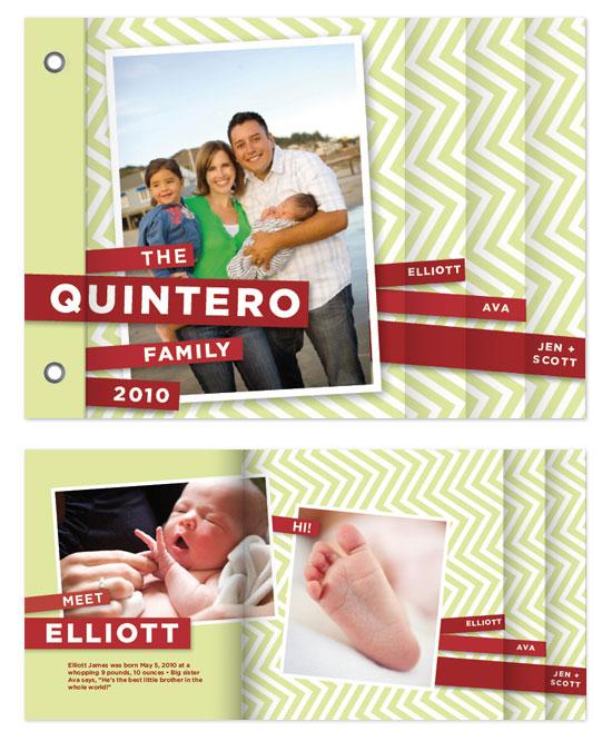 minibook cards - Chevre by Paper Plains