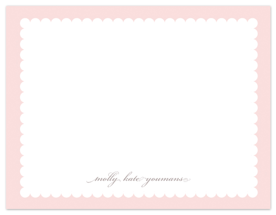 personal stationery - Sweet Pink by Cami