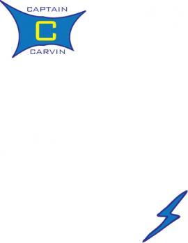 Superhero Personalized Children's Stationery