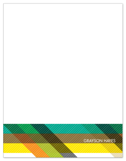 personal stationery - tartan by SD Design