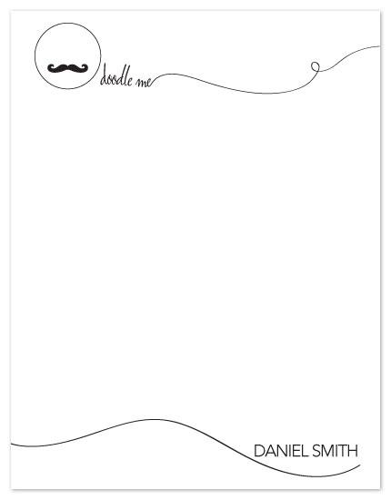 personal stationery - doodle me by Hoang Huynh
