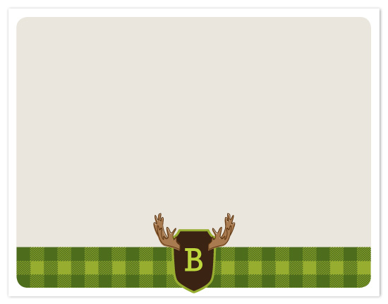 personal stationery - Moose Lodge by Inkwell Creative