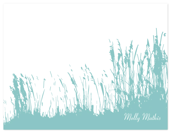 personal stationery - Sea Oats by Artful Ambition