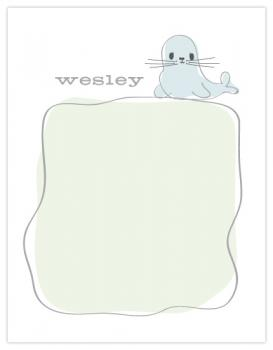 "Baby Seal - ""Wesley"""