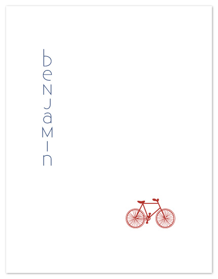 personal stationery - Bicycle by Alexandra Stafford