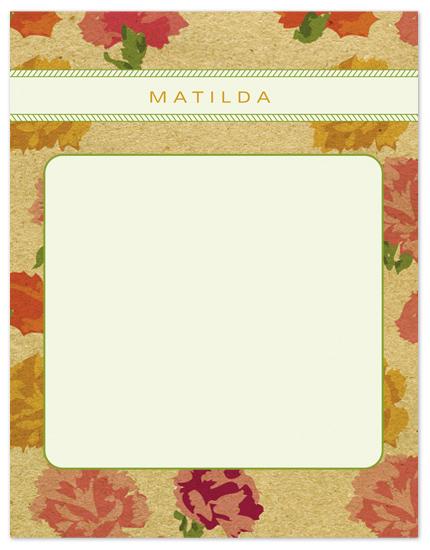 personal stationery - Matilda Kraft by Kelly Nasuta