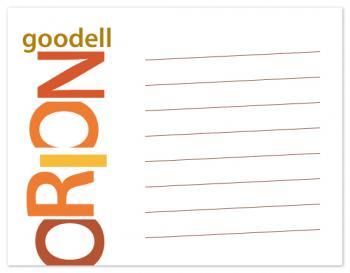 sliced typography