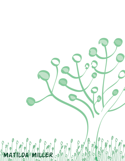 personal stationery - Circle Tree Stationary  by Kierra Fortney