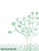 Circle Tree Stationary  by Kierra Fortney