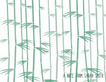 Bamboo Stationary  by Kierra Fortney