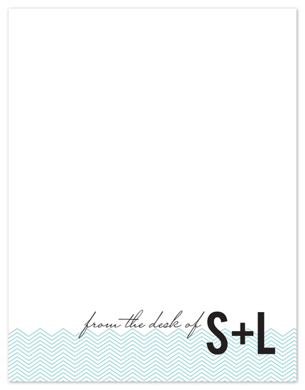 personal stationery - Chevron Stationery by Heidi Stock Design