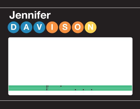 personal stationery - New York Subway by Marina D. Valencia