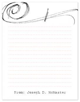 Sketchy Letter