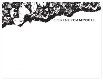 antique lace stationery
