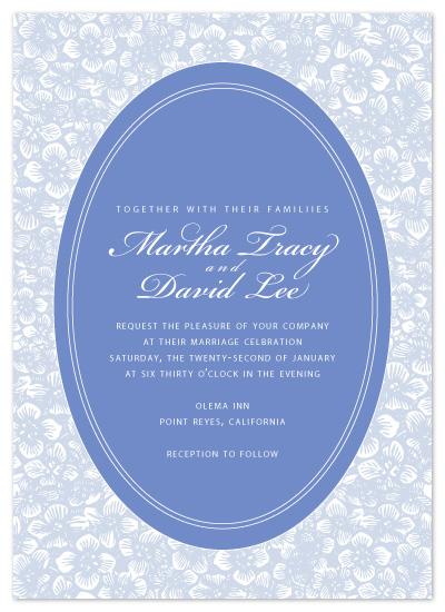 wedding invitations - Prettywinkle by thehouseonbrady