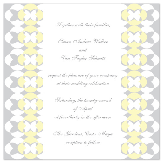 wedding invitations - Circles of Love by Jennifer Stein of PS Designs Etc.