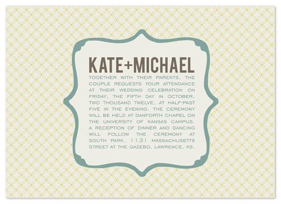wedding invitations - Vintage Fairytale by Heidi Stock Design