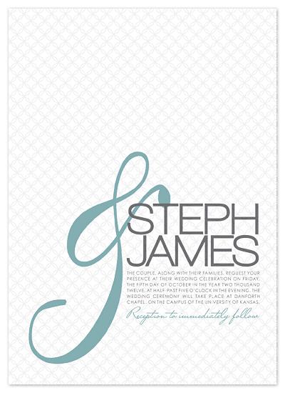 wedding invitations - Modern & by Heidi Stock Design