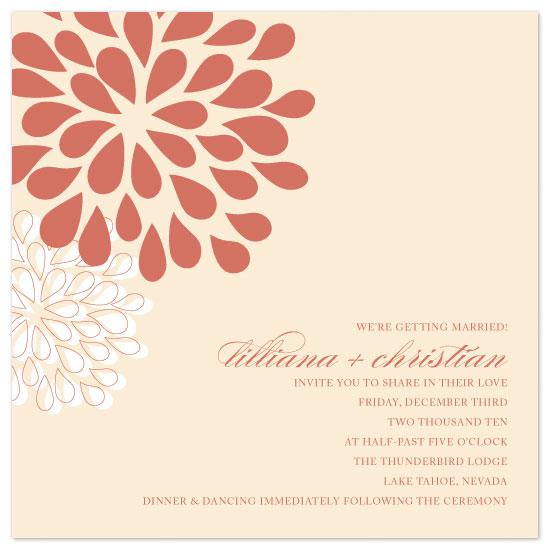 wedding invitations - Pom Pom by Hoang Huynh