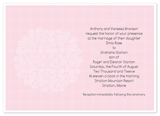 wedding invitations - Sweet Romance by Corrine H Taylor