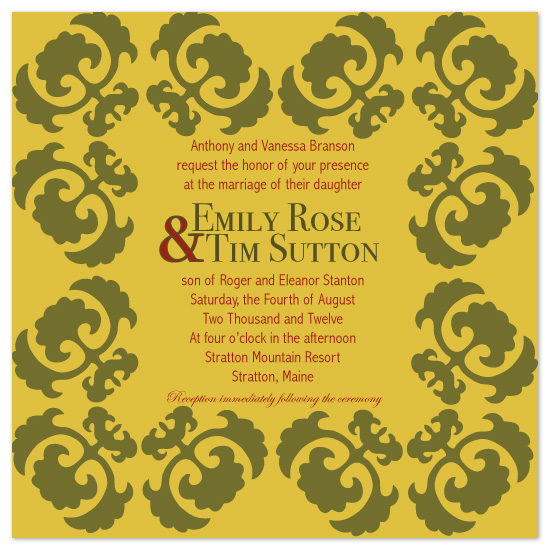 wedding invitations - Fall into Love by Sadie Visser Designs