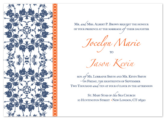 wedding invitations - Modern Vintage by Christine Meahan