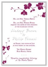 Orchid Wedding Invitati... by Christine Meahan