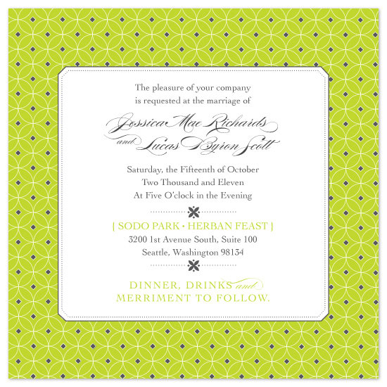 wedding invitations - XO Mod by Tanya Williams