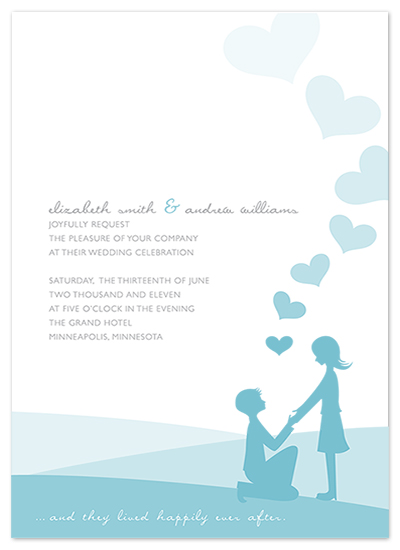 wedding invitations - Ever After by Etcetera Design