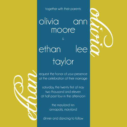 wedding invitations - Olive Oil Invitation by Preppy Paperie