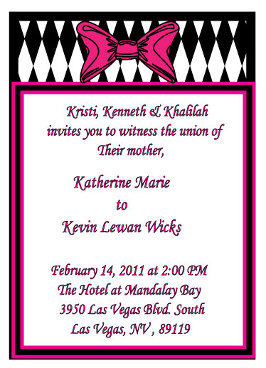 wedding invitations - Single Moms Wedding Day Invite by Isharra
