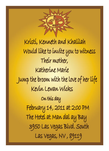 wedding invitations - Ethnic Invite by Isharra