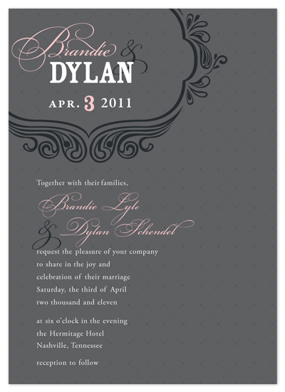 wedding invitations - Southern Soiree Wedding Invitation by Rachael Schendel