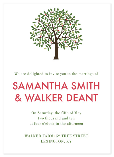 wedding invitations - Walker Farm by Red Turtle