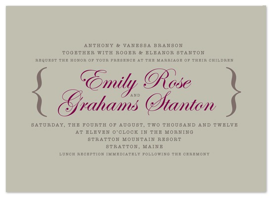 wedding invitations - Penhurst Court by Gerard Palomo