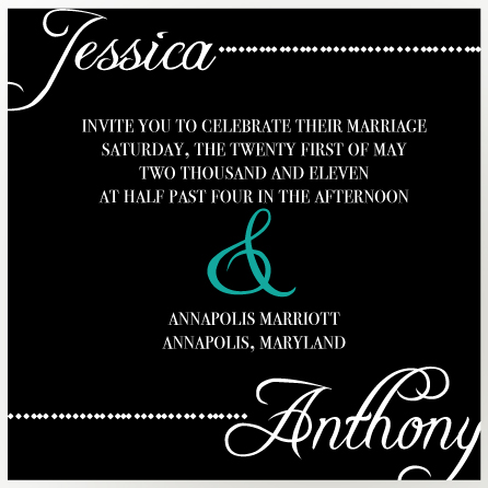wedding invitations - Love Symphony by Preppy Paperie