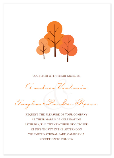wedding invitations - Fall In Love by Hoang Huynh