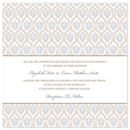 wedding invitations - Ornate Lace  by Amanda Michaud
