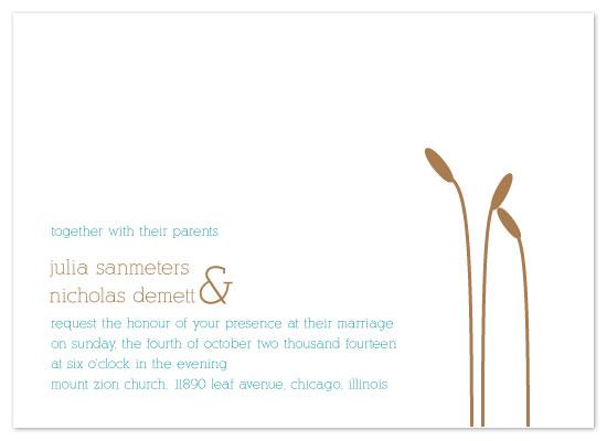 wedding invitations - Shoreline by Rock Candy