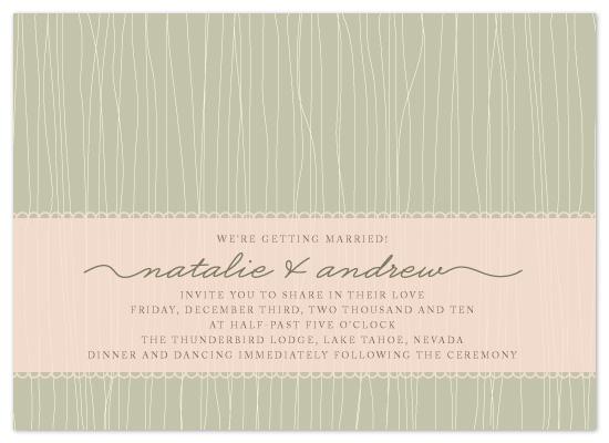 wedding invitations - vintage warmth by Hoang Huynh