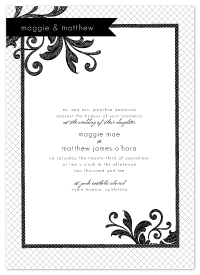 wedding invitations - Je t'aime by SunnyJuly